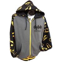 NEW BATMAN Winter Hoody Jacket Blue New