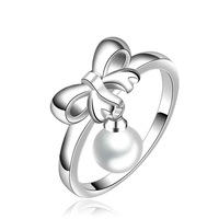 NEW Arrivel 2014 USA EURO Style Fashion Silver plated CR593 Ring Wholesale Jewelry SMTR593