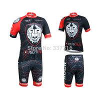 New Arrival!2015 Rock Racing Cycling Jersey Short Sleeve bib Shorts Kits Bike Ropa Ciclismo MTB Clothing
