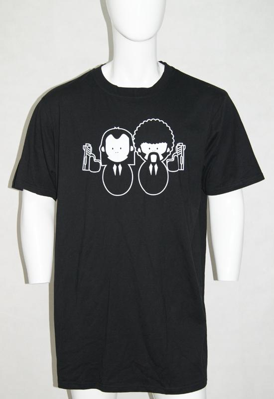 Funny Men's T Shirt Friendly Gun Black Short Sleeve Printing T Shirt Design Tops Tees football,baseball,school shirt(China (Mainland))