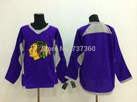 Cheap Free Shipping men's Hockey Jersey Chicago Blackhawks blank  Hockey Jersey Embroidery Logos Jersey