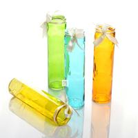 Free Shipping!4pc/lot Flower Vase Candy Transparent color Flower Bottle Table Glass vase Home flower decoration New!