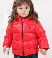 Free shipping-High quality lowest price Kids Down jacket Children down jacket boy and girl down jacket many colors G9011
