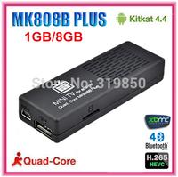 MK808B Plus Android TV Box Quad Core Amlogic M805 Smart TV Box android 4.4 XBMC Media Player 1GB/8GB 1080p H.265
