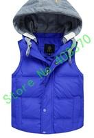Children down jacket Eider down jacket not have sleeves down jacket baby down jacket Down vest Children vest