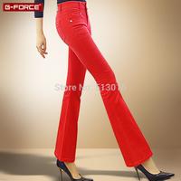 Free shipping new winter Slim jeans female speaker Women jeans wide leg jeans micro speaker