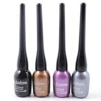 Multicolour jondana soft-bristle eyeliner liquid black purple gold eyeliner liquid free shipping by CHINAPOST