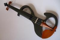 Cool s electric violin handmade black electric violin full jujube configuration