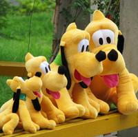 1pcs/lot 30cm Sitting Plush Pluto Dog Doll Soft Toys stuffed animals toys for children Birthday kids Gifts