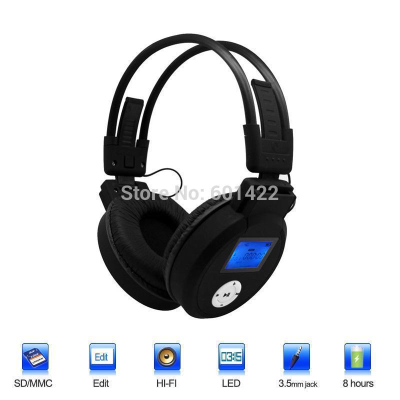 BOAS-Wireless HI-FI Headphone Stereo Headset Studio Wireless Earphone With FM Radio TF Card Built-in Microphone-Black(China (Mainland))