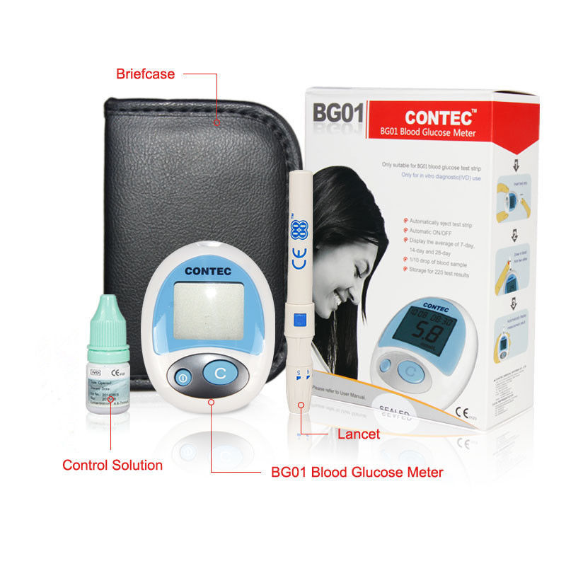 New Portable Blood Glucose Meter,Glucometer,Glucose monitor,Lancet +Test strips(China (Mainland))