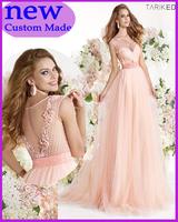 Custom Floor-Length Tulle Evening Dresses Sweetheart Beading Long Prom Dress Formal Elegant Gown  Vestido de festa TY-009