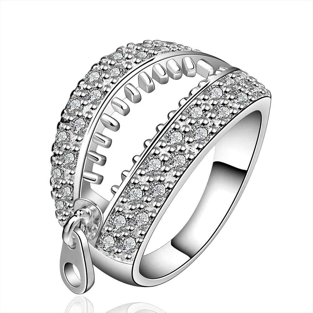 Бесплатная Доставка Великолепная посеребренная обручальное кольцо lasuo holow aneis collier plastron кольцо bao chun anillos 925 aneis jz10 bcjz10