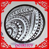 Free Shipping   10pcs/lot  Qgirl Stamping Plates  Qgirl029  Stamping Image Plate