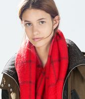 Fashion Shawl Wrap Cape Oversized Soft Tartan Checked Plaid Blanket Scarf S28