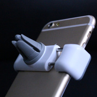 White Color Car Air Vent Mount Stand Holder For 5 Inch Phone Universal Car Air Vent Holder Stand for Airframe phone holder