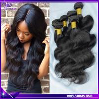 Brazilian Hair Weave Bundles 3Pcs Brazilian Virgin hair Body Wave Rosa Hair Products Brazilian body wave human hair exntension
