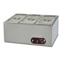 Electric 2-Pan Bain Marie food warmer(EH-3)