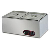 Electric 2-Pan Bain Marie food warmer(EH-2)