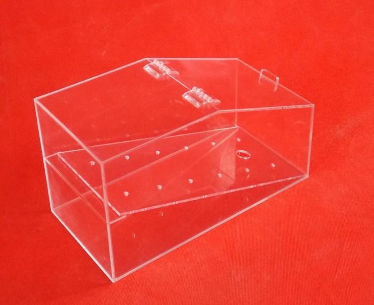 Acrylic Boxes Custom Made : Custom made high transparent acrylic box