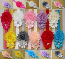 Fasce del bambino bambini bambino headwear della perla del fiore infantile della ragazza del bambino clip della fascia hairband della fascia dei capelli accessori xth077, 1  (China (Mainland))