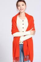 Wholesale 3 pc/lot Winter Warm Solid Scarfs Large Size Scarf 200*60cm Length Capes Fashion Pashmina Long Scarves SCARF-879116