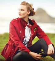 UK national brand women's fashion new all star  cotton slim standard long coat jacket free postage