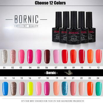 ( Choose12 цвета ) 10 мл Bornic помочь , от уф ногти гель для ногтей профессиональный и гель для ногтей лак для ногтей лак долгое бесплатная доставка