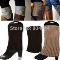 godbead Women Crochet Knit Boot toppers Leg Warmers Socks Cuffs Knee High Long LEGGING