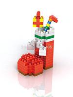 LOZ Diamond Christmas Tree Santa Claus Socks Polar Bear Nano Building Blocks Sets Educational Toys Gifts for children