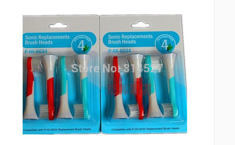 4PCS/PACK Replacement Brush Heads kids electric brush head Best Replacement for Oral B Hygiene Tooth Brush free shipping(China (Mainland))