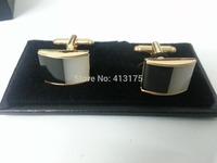 2014  gold cufflink elegant fashion stone cufflink hot sale cufflink