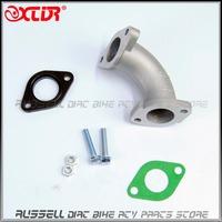 PZ26 Mainfold Intake Pipe 56-2 for 125cc 140cc ATV Dirt Pit Bike Motorcycle Carburetor Parts