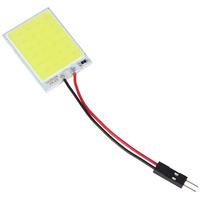 T10 4W 24 x SMD COB LED White Light Interior Car Panels Reading Light