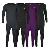 Free shipping 2014 new thermal underwear men underwear sets compression sport fleece sweat quick drying thermo underwear men