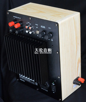 110v or 220V 150W Active Pure bass subwoofer amplifier SUB AMP with box 2SA1943 2SC5200