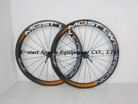 Only $499 55mm clincher  carbon wheels  carbon road bike wheelset bicycle wheels 5 colors orange   effect