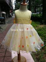 Free shipping new summer children's baby princess tutu dress one-piece dress floral dress kids clothes