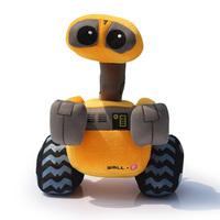 25cm Wall E  robot WALL.E plush toys stuffed Christmas gift Free Shipping