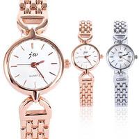 New Womens Luxury Gold Bracelet Stainless Steel Wrist Watch Quartz Watches