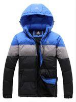 New 2014 men's warm outdoor waterproof windproof winter sports down jacket parka coat outerwear overcoat cold-proof thick coats