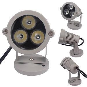 Hot Aluminum Waterproof IP65 3W LED Outdoor Flood Light Garden Lawn Path Light Lamp(China (Mainland))