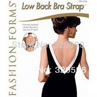 Free Shipping 100sets/lot(300pcs) Low Back Bra Strap Magic Bra Strap Low Back Converter Backless V Conversion Solution Extender