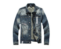 Free shipping 2014 brand new men's winter coat jacket denim jacket men's winter coat jacket male coat  A2006