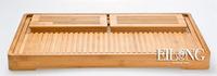 High qualityTaiwan ELong authentic tea ceremony drainage large bamboo tea tray Kung Fu tea sets tableware tea tools