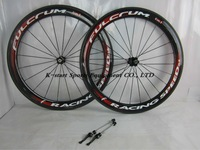 2014 NEW Only $399 50mm clincher  carbon wheels  carbon road bike wheelset bicycle wheels 5 colors red   effect Free shipping