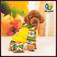 CUBE MARKET PET SHOP cartoon designs pet dog clothes chien disfraces overalls perros dog costume perro ropa de deporte