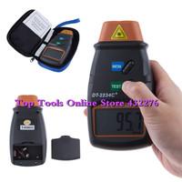 Digital Laser Photo Tachometer Non Contact Tach RPM meter
