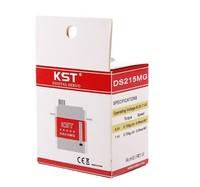 Freeshipping KST DS215MG Digital Coreless Swashplate CCPM/Rudder Servo For 450 RC Helicopter elicottero Big Sale