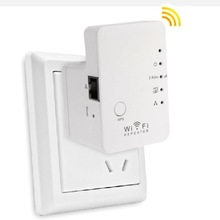 Wireless Wifi Repeater 300Mbps WiFi Repeater Router Wireless Signal Extender Supporting WPS One Key Encryption US + EU Plug